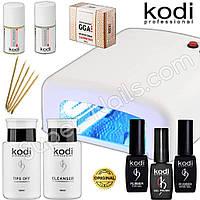 Старт набор гель лаков Kodi c УФ лампой