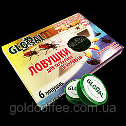 Ловушки от тараканов и муравьев Global Глобал