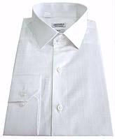 Рубашка мужская белая в клетку №10-12к. - Glory 33-01, фото 1