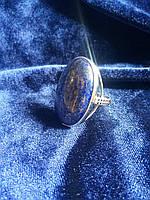 Кольцо с натуральным камнем Оникс