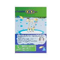 Картон белый, А5, 5 листов, 200 г/м2, SMART Line (ZB.1992)