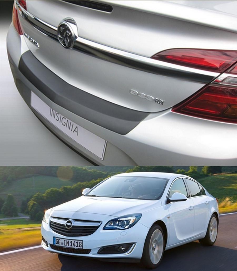 Накладка заднего бампера Opel Insignia 4/5 Door 2013-2017