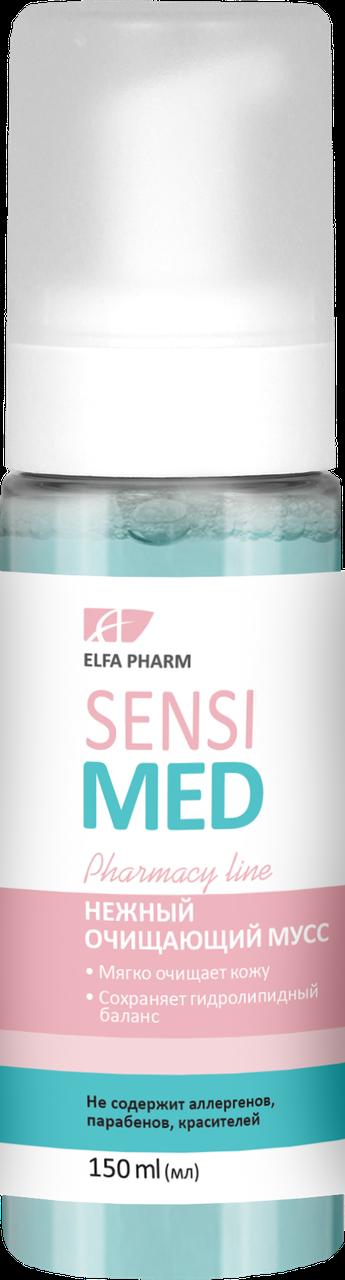Нежный очищающий мусс для чувствительной кожи Sensi Med , 150 мл