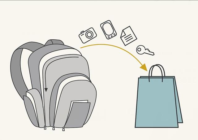 Машинная стирка рюкзака этап 1