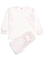 Пижама в мелкий горох для девочки (р-ры 80-134)