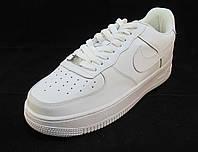 Кроссовки  Nike Air Force белые унисекс (найк аир форсы) (р.38,39)