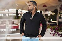 Черная мужская рубашка осень