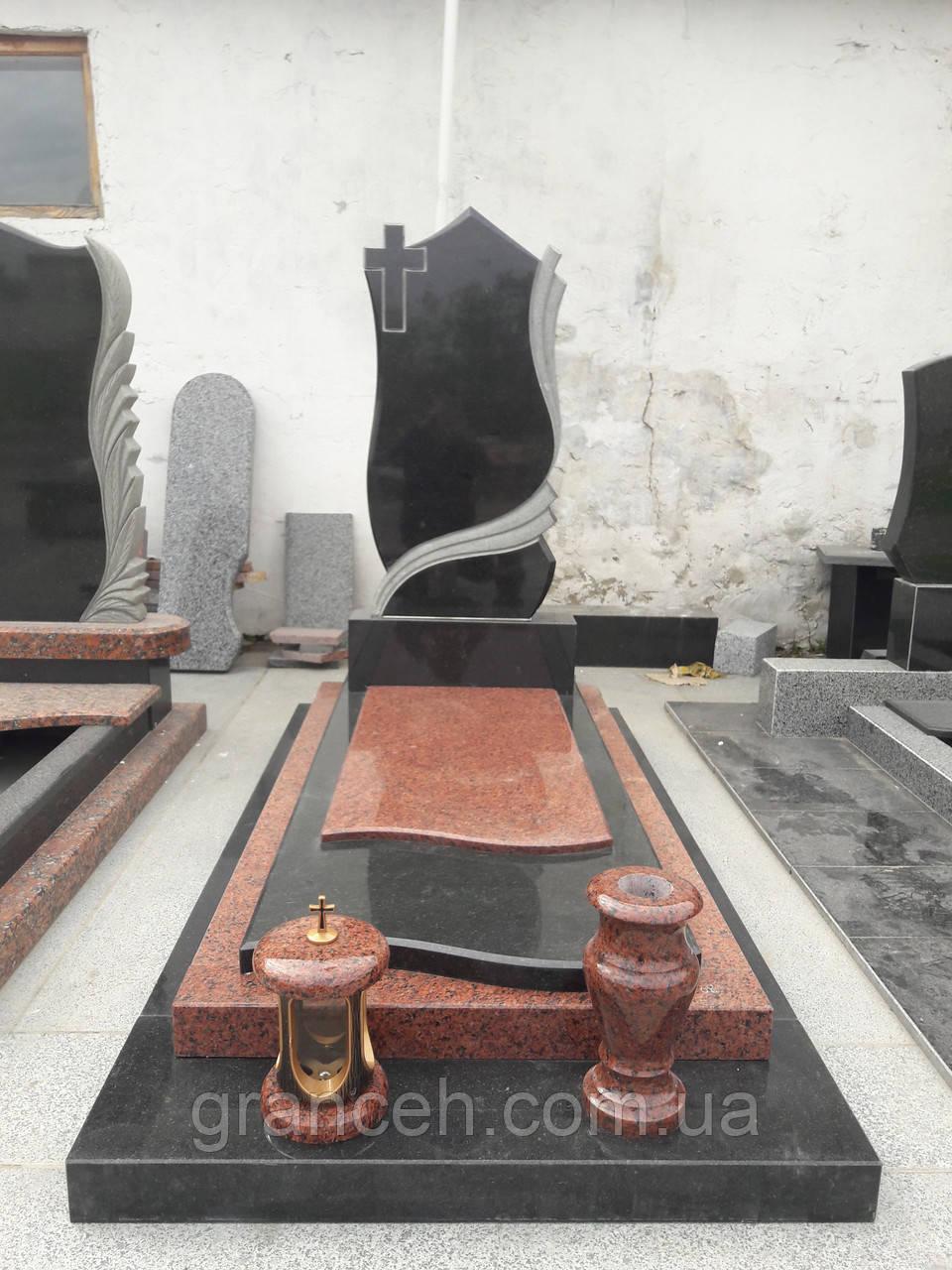 Памятник из гранита №136 - GRANCEH в Житомирской области