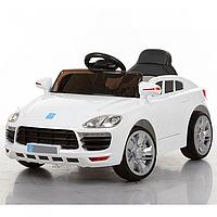Детский электромобиль Porsche M 3272EBLR-1 с мягким сиденьем, колеса ЕВА