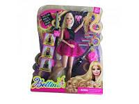 Кукла с длинными волосами и аксессуарами
