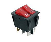 Переключатель клавишный KCD3-2-202 220Вольт 15А