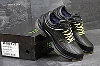 Зимние кроссовки Ecco Biom  , чёрные с жёлтым