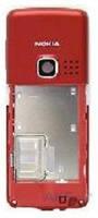 Средняя часть корпуса Nokia 6300 Red