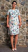 Нарядное женское платье из шелка армани П18