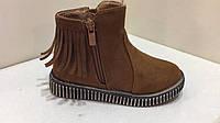 Демисезонные ботинки Linshi для девочки, размер 29