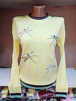 Тоненький свитер Стрекоза. Свитер. Одежда. Интернет-магазин. Женская одежда. Недорого.