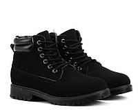 Женские ботинки на зиму на шнуровке с Польши размеры 37