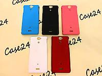 Чехол накладка бампер Alisa для Sony Xperia V LT25i (5 цветов)