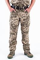 Легкие полевые штаны ЗСУ пиксель из рубашечной ткани