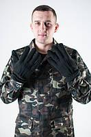 Перчатки мужские флисовые. Черные и олива