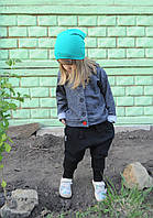Толстовка на пуговках и с капюшоном. Размер: 92 см, фото 1