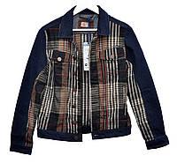 c9906c1946488b Пиджак мужской джинсовый Crown Jeans модель 5009 DN78 (Slim Fit) Vintage  Denim Collection