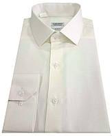 Рубашка мужская классическая №10 - диагональ айвори, фото 1