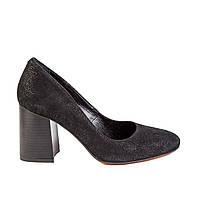 Туфли женские LIRIO 65/80-43-12-4-3 черн. замш., фото 1