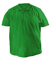 Футболка мужская поло большого размера зеленого цвета