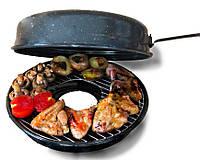Сковорода гриль-газ WЕSTORM RОASTER GАS  - эмалированная сковорода, фото 1