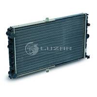 Радиатор охлаждения 2112-10 (алюм) (инжект.)(LRc 0112) ЛУЗАР