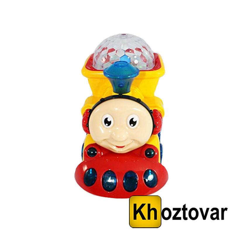 """Іграшка інерційна для дітей від 3 років """"Паровозик світиться зі звуком"""" Yijun Light Train YJ388-4"""