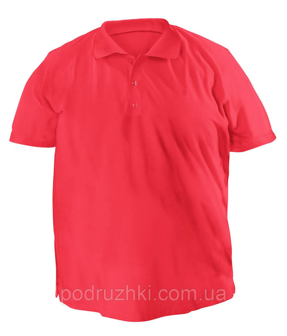 1bf4279248c8e Футболка мужская поло большого размера кораллового цвета, цена 270 грн.,  купить в Запорожье — Prom.ua (ID#585488079)