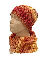 Комплект шапка-хомут Оранж