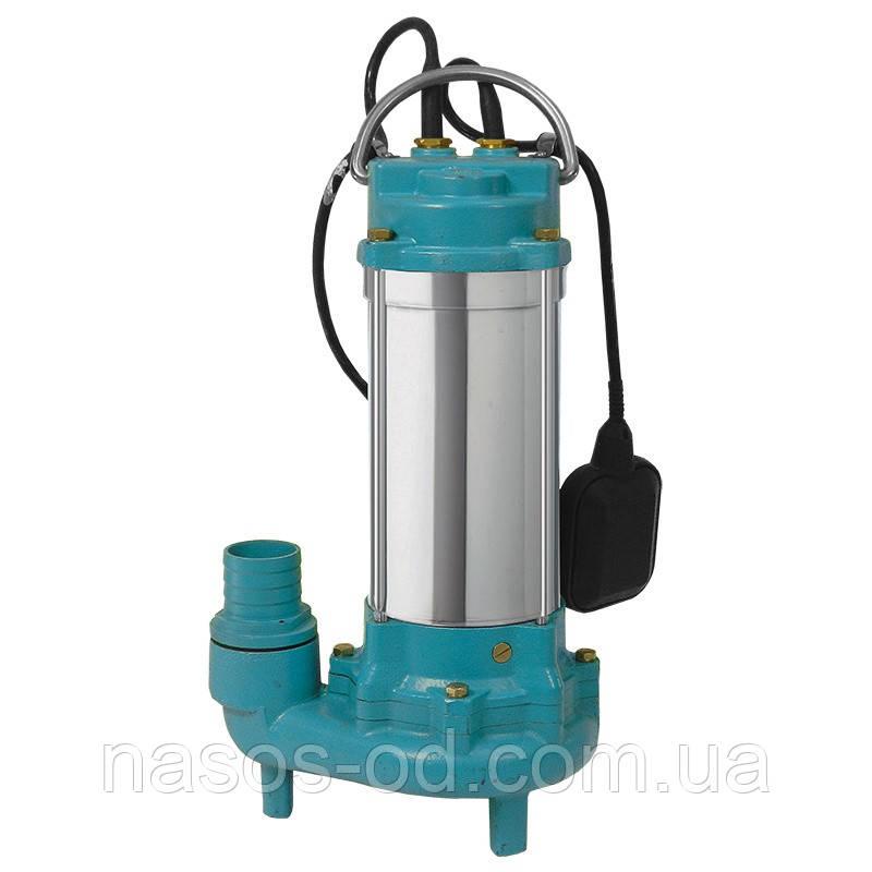 Канализационный насос фекальный Aquatica для выгребных ям 1.5кВт Hmax19м Qmax350л/мин (с ножом)