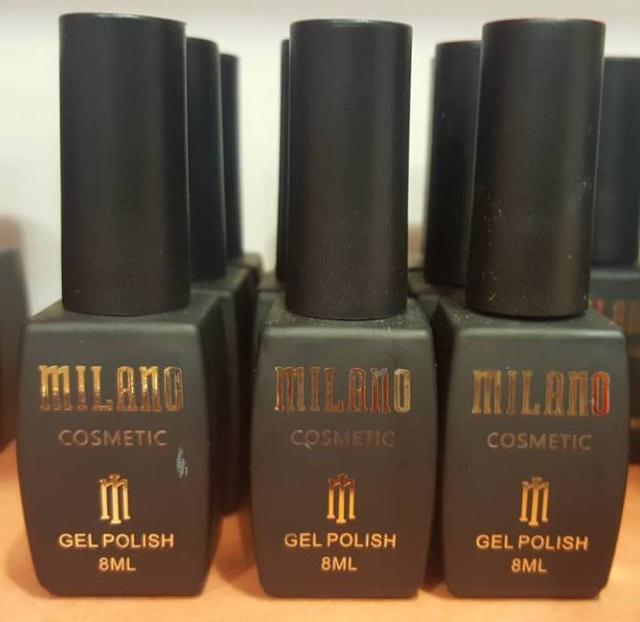 Гель лаки Milano