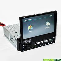 Автомагнитола Pioneer PI-903 GPS (IGO+Navitel) +TV Выдвижной экран 7'' Bluetooth