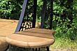 """Садовые качели """"Дубаи"""" черного/коричневого цвета, материал основы - дуб, фото 4"""
