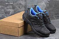 Кроссовки  Merrell  ,чёрные с голубым (термо)