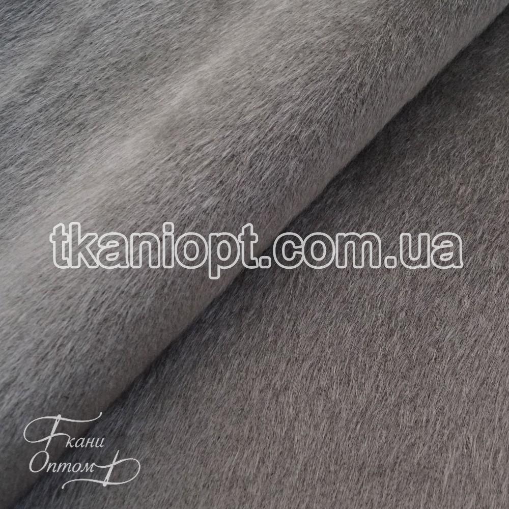 Ткань Мех искусственный нерпа (серый), цена 203 грн. м, купить в ... 897cceb307b