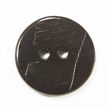 Пуговица И153 ракушка чёрная, D 16 мм, фото 2