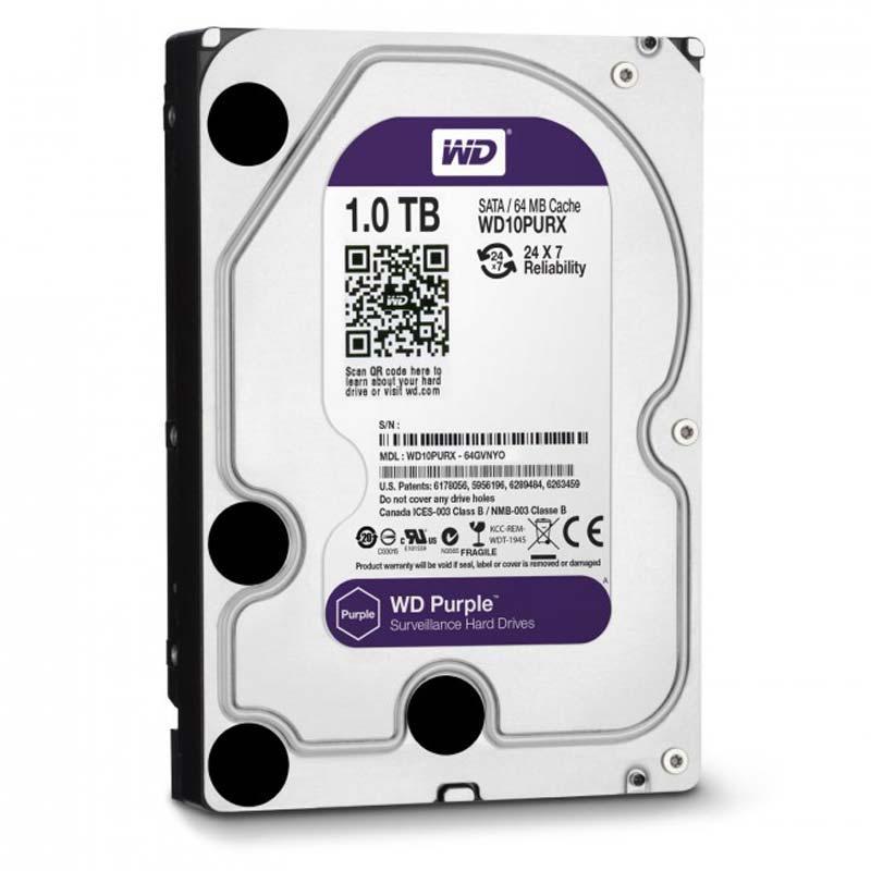 Western Digital Purple 1TB 64MB WD10PURX 3.5 SATA III