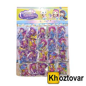 """Фігурки для дітей від 5 років головних героїнь з вихованцями """"Маленькі чарівниці"""" Little Charmers"""