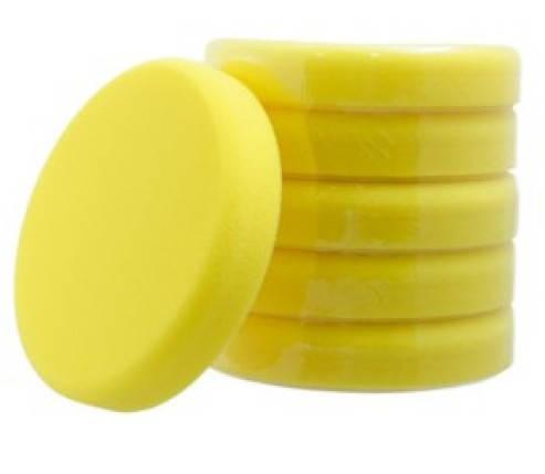 Koch Chemie желтый полутвердый полировальный круг Ø 160х30 мм, фото 2