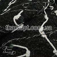 Ткань Пальтовая ткань шерсть букле (темно-серый)