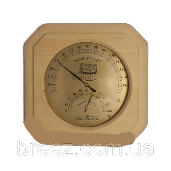 Термометр + гидрометр одинарный № 1
