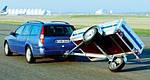 Управление автомобиля с легковым прицепом