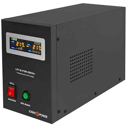ИБП LogicPower 500VA (350Вт) под внешнюю батарею 12 Вольт, фото 2