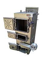 Двухконтурный пиролизный котёл длительного горения 30 кВт