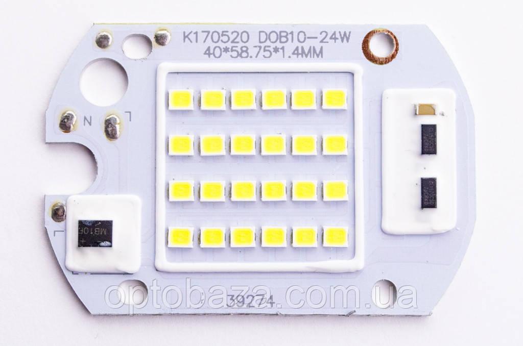 Светодиод LED 20W 6000K SMD + IC драйвер